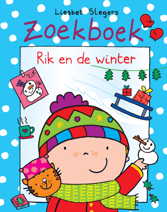 Zoekboek - Rik en de winter