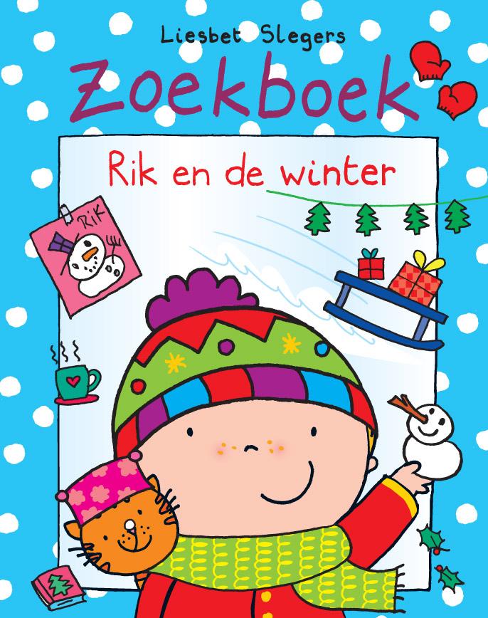 Zoekboek - Rik en de winter